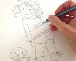 Proceso creativo de una de mis ilustraciones