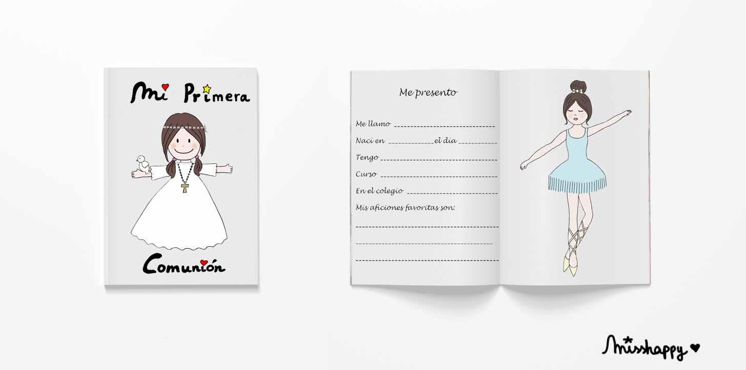 Libro de comunión_Mss Happy